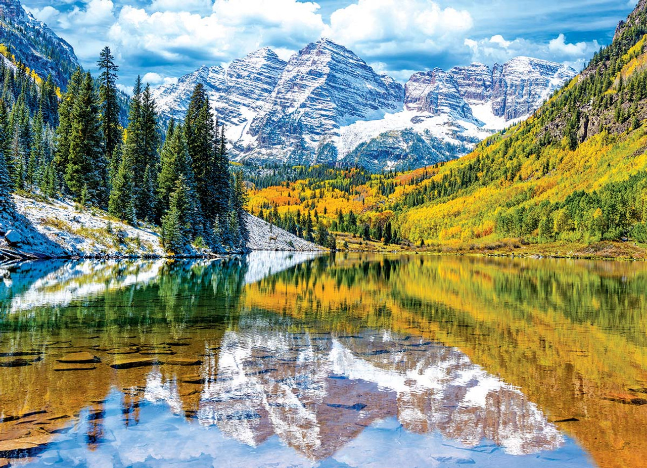 Rocky Mountains Colorado 1000pc Jigsaw Puzzle By Eurographics