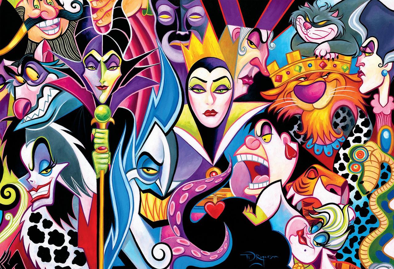 Disney: Villains - 2000pc Jigsaw Puzzle by Ceaco ...