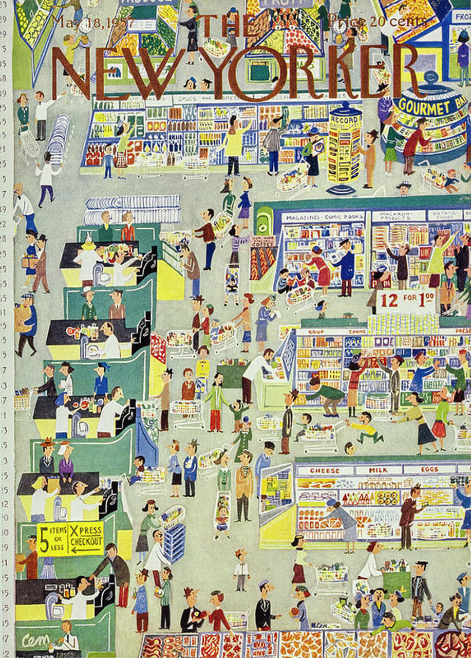 Supermarket - 300pc Jigsaw Puzzle by New York Puzzle Company
