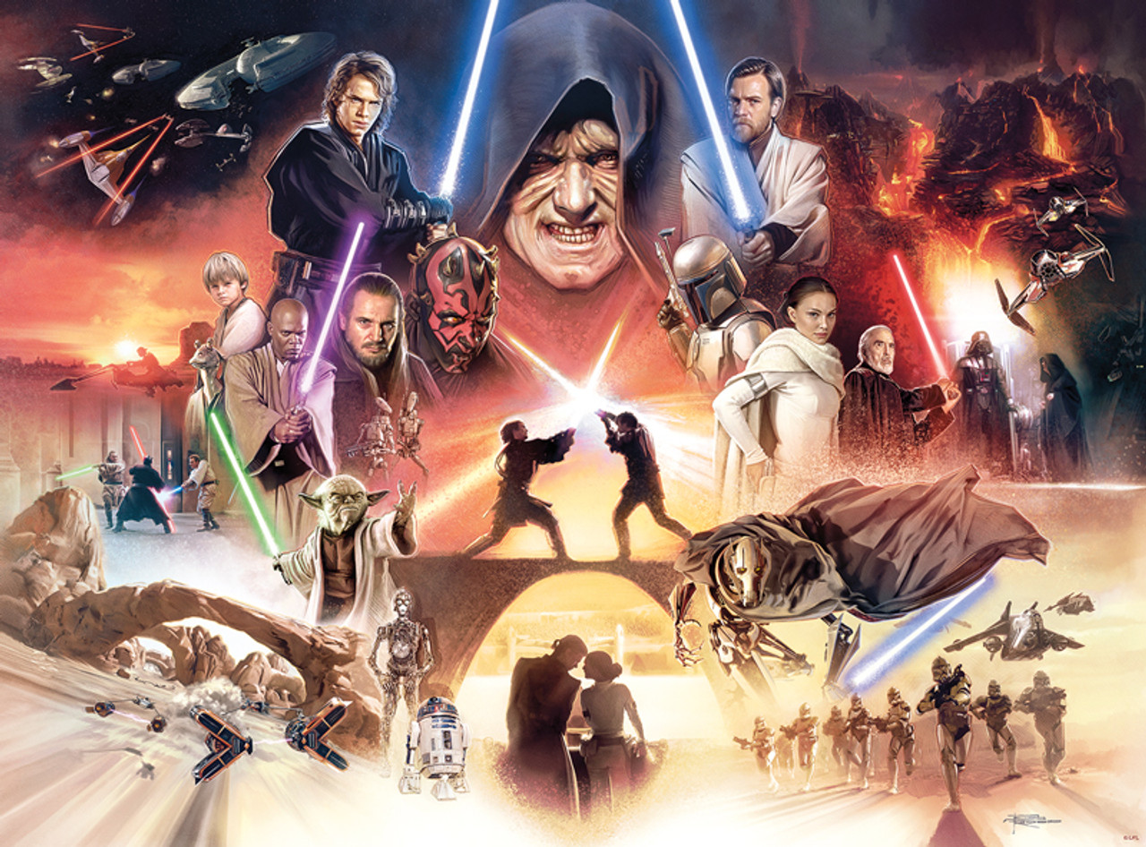 Star Wars I Sense Great Fear In You Skywalker 1000pc Jigsaw Puzzle By Buffalo Games Seriouspuzzles Com