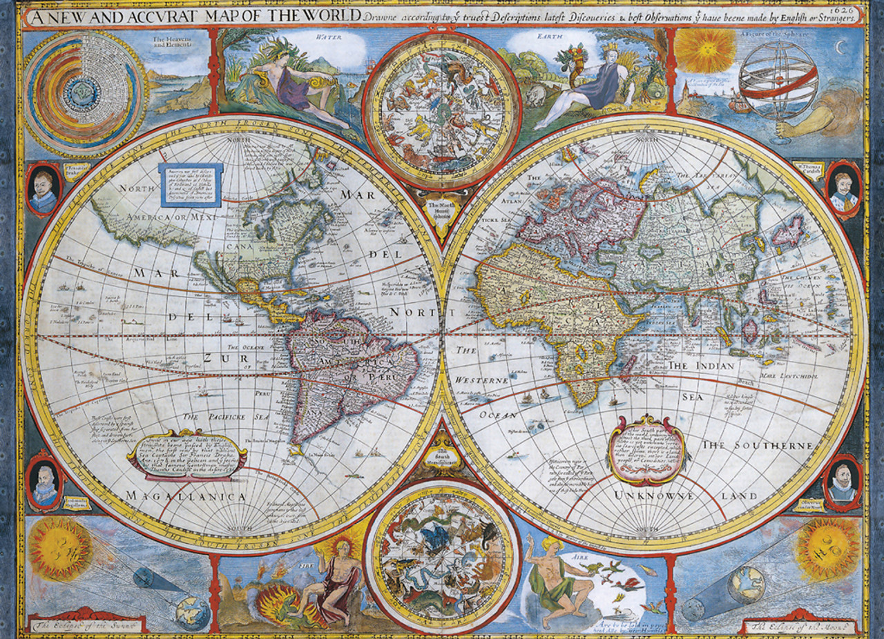 Antique World Map - 1000pc Jigsaw Puzzle by Eurographics on european puzzles, printable world geography puzzles, floor puzzles, australian puzzles, map of germany and austria, map puzzles online, melissa and doug knob puzzles, large disney puzzles, map desktop wallpaper, map of countries the uk, north american wildlife puzzles, map puzzles easy, wildlife gallery puzzles, map of continents,