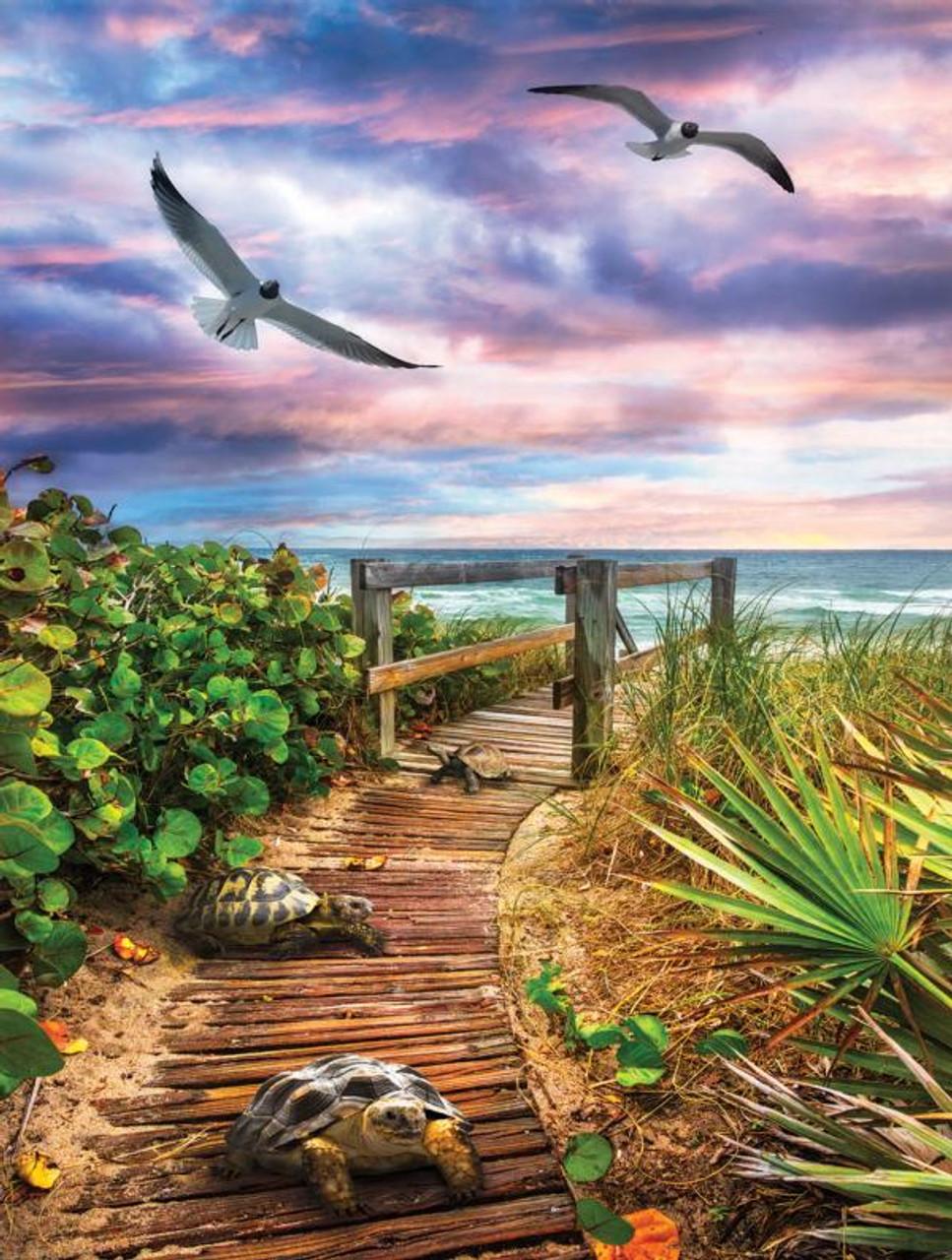 SUNSOUT INC Beach Life 500 pc Jigsaw Puzzle