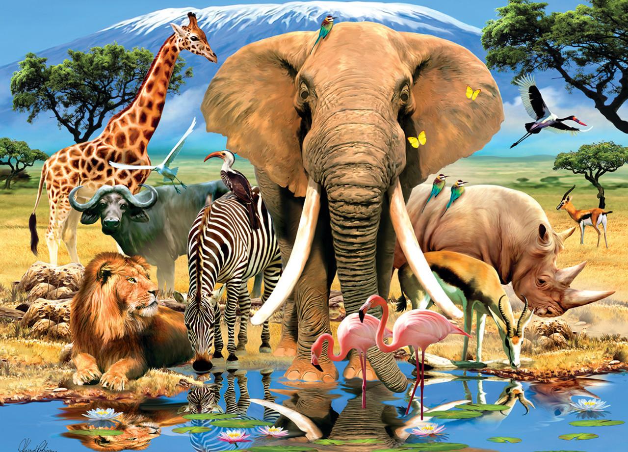 Animal Planet: Safari Adventure - 1000pc Jigsaw Puzzle by ...