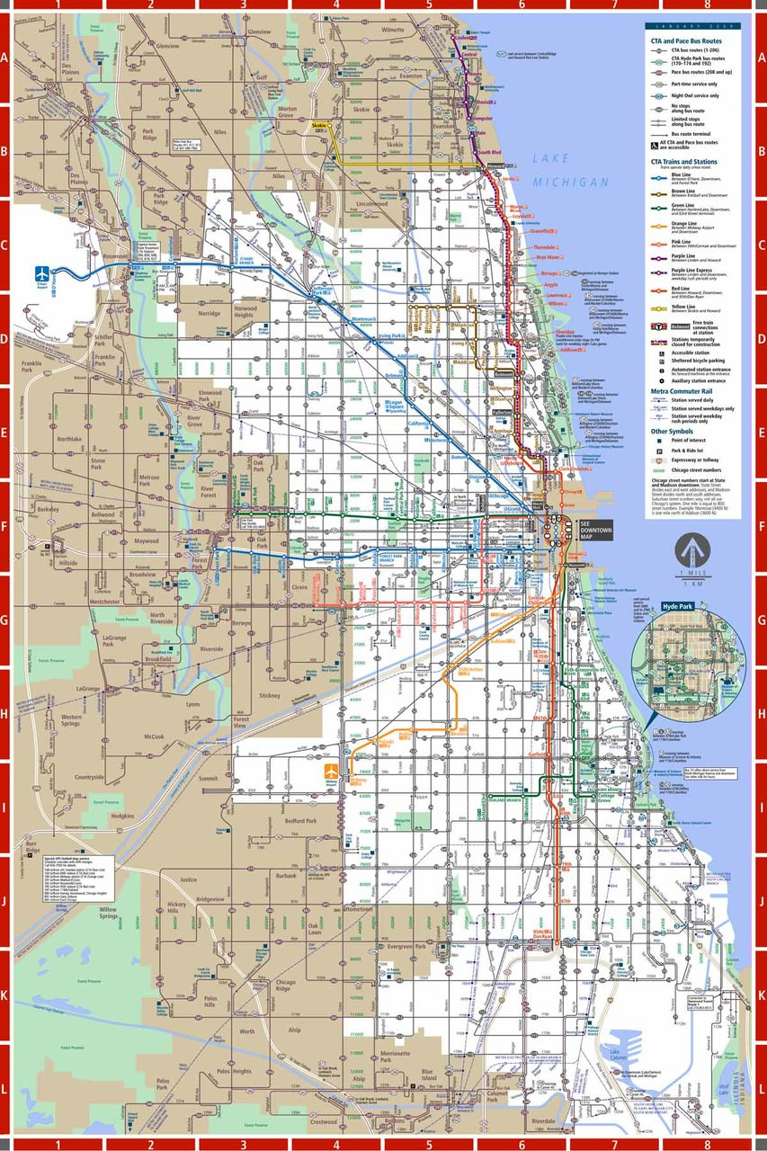 Chicago Subway Subway Map.Chicago Subway 500pc Jigsaw Puzzle By New York Puzzle Co
