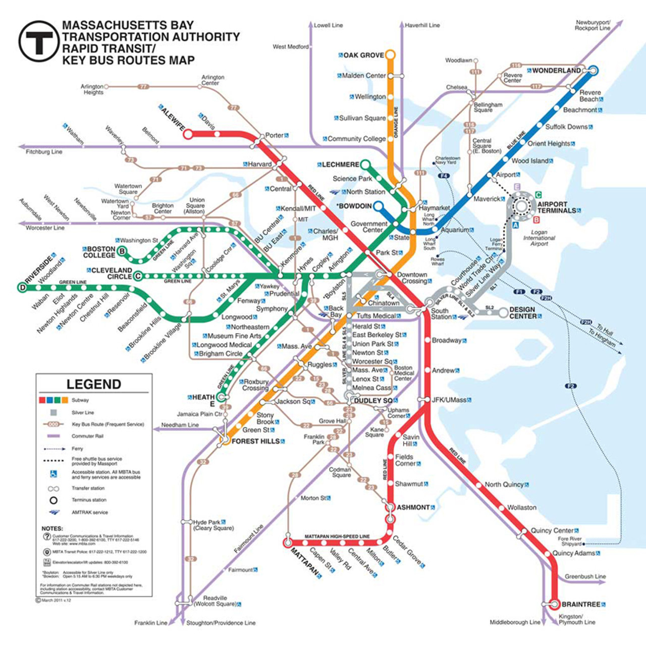 New York Subway Map Puzzle.Boston Subway Puzzle 500pc Jigsaw Puzzle By New York Puzzle Co