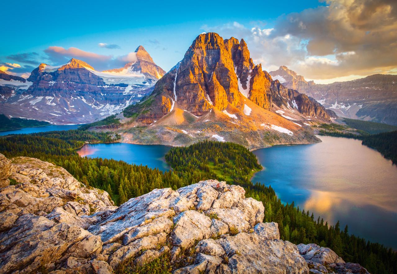 Assiniboine Vista Banaff National Park Canada 1000pc