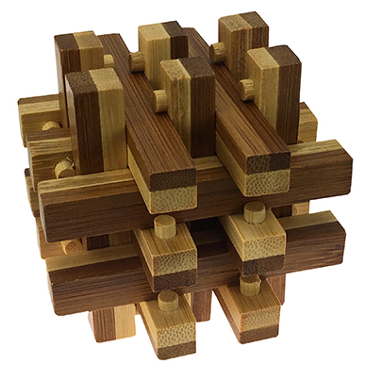 EcoLogicals: Lattice - Wood Assembly Puzzle ...