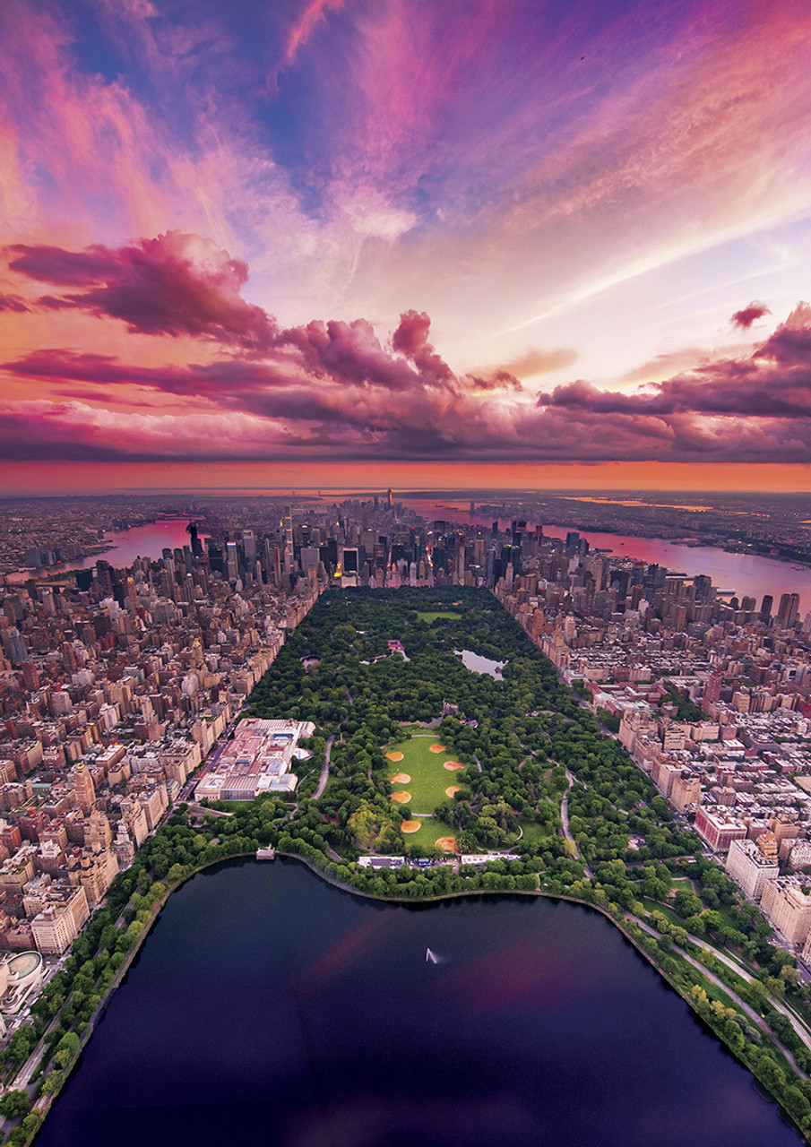 New York Twilight - 300pc Large Format Jigsaw Puzzle By Buffalo Games