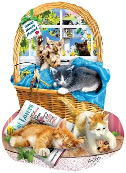 SUNSOUT INC Dont Mess with Kitty 1000 pc Jigsaw Puzzle