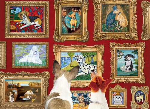 Dog Gallery - 1000pc Jigsaw Puzzle by Cobble Hill