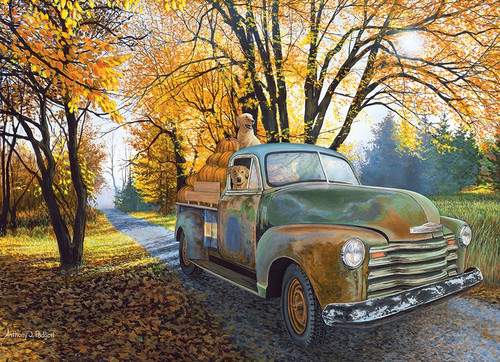 Joyride - 500pc Jigsaw Puzzle By Cobble Hill