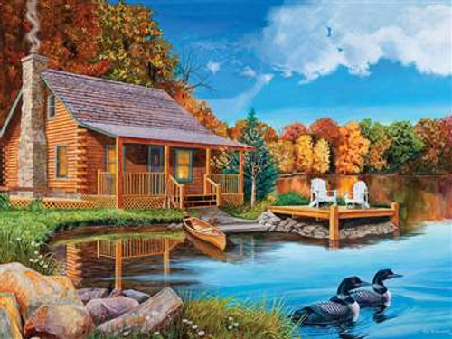 Loon Lake - 500pc Jigsaw Puzzle By Cobble Hill