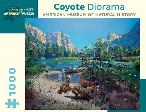 Coyote Diorama - 1000pc Jigsaw Puzzle by Pomegranate