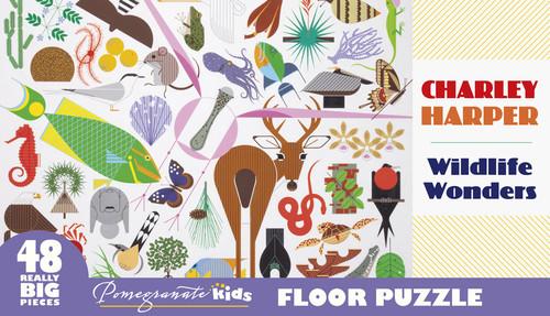 Harper: Wildlife Wonders - 48pc Floor by Pomegranate