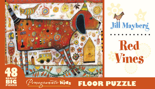 Mayberg: Red Vines - 48pc Floor by Pomegranate