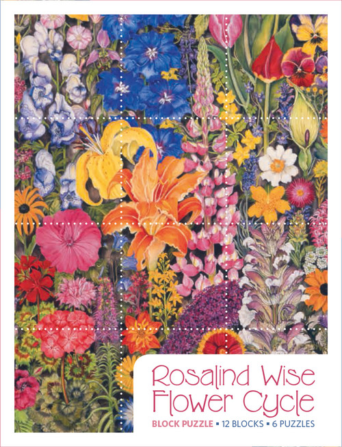 Wise: Flower Cycle - 12pc Block by Pomegranate