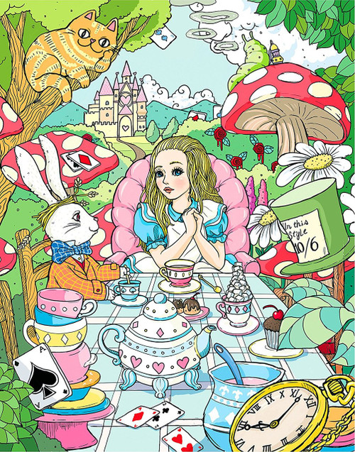 Wonderland - 500pc Jigsaw Puzzle By Re-marks
