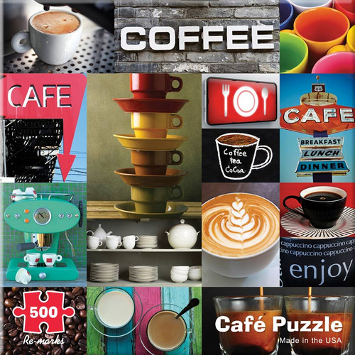 Cafe - 500pc Jigsaw Puzzle By Re-marks