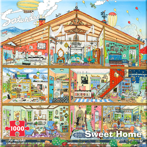 Architecture - 1000pc Jigsaw Puzzle By Re-marks