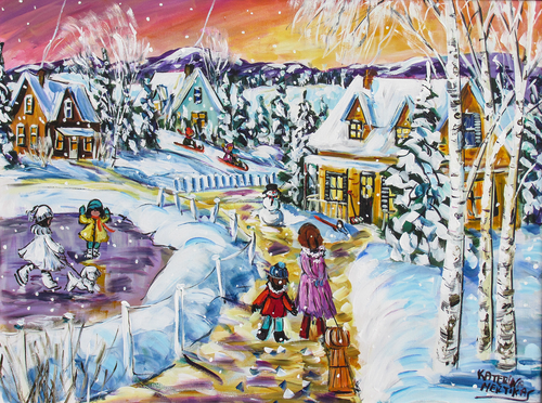Mertikas: Magic Winter - 750pc Jigsaw Puzzle By Standout Puzzles (discon-29458)