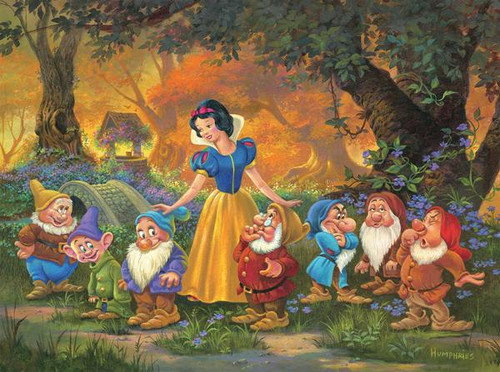Disney: Among Friends - 1000pc Jigsaw Puzzle by Ceaco