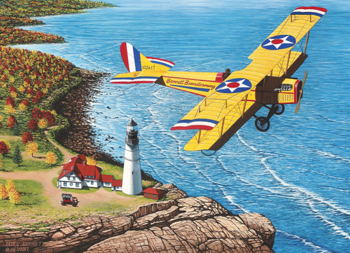 Bennett Barnstorming - 1000pc Jigsaw Puzzle by Cobble Hill