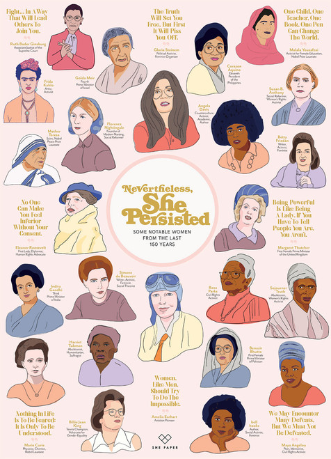 Nevertheless, She Persisted - 1000pc Jigsaw Puzzle by Cobble Hill
