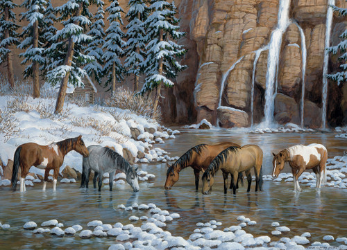 Spirit of the Rockies - 1000pc Jigsaw Puzzle by Cobble Hill