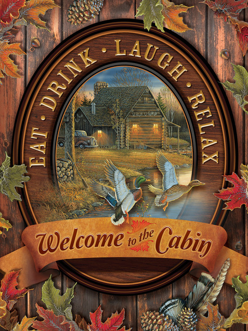 Welcome to the Cabin - 275pc Easy Handling Puzzle by Cobble Hill