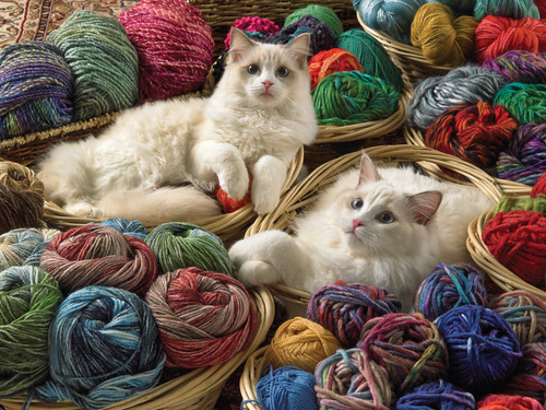 Ragdolls - 275pc Easy Handling Puzzle by Cobble Hill
