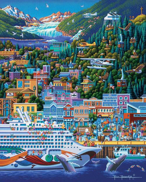 Juneau - 500pc Jigsaw Puzzle by Dowdle