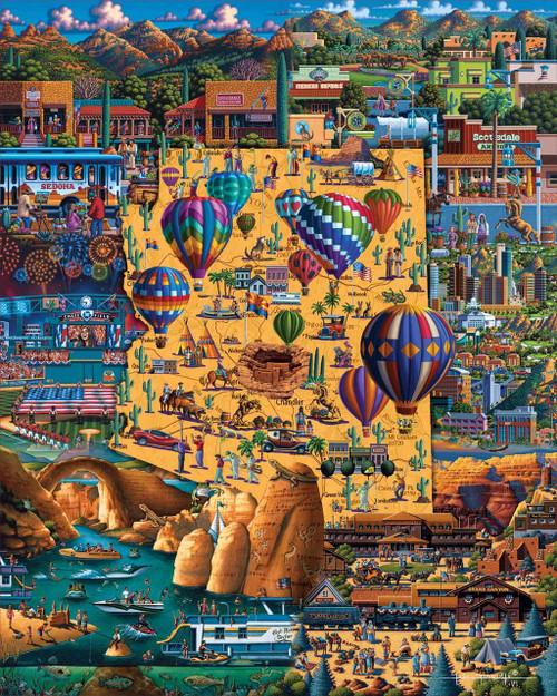 Best of Arizona - 500pc Jigsaw Puzzle by Dowdle