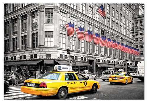 Fifth Avenue, New York - 1000pc Jigsaw Puzzle by Educa