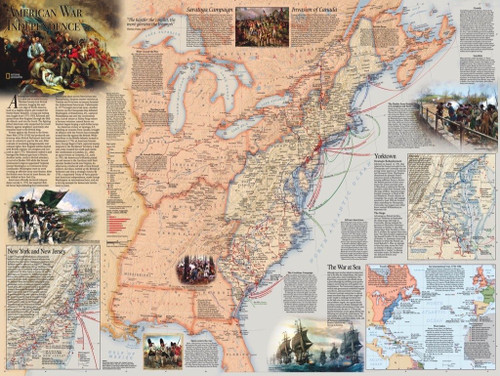 American Revolution - 1000pc Jigsaw Puzzle by New York Puzzle Company