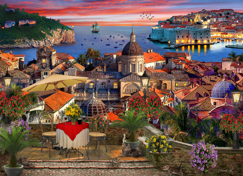 Dubrovnik - 1000pc Jigsaw Puzzle