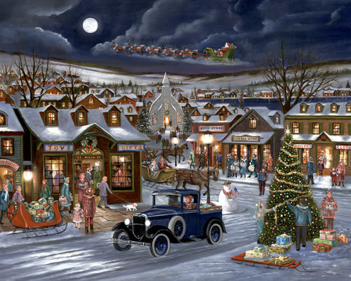 Rejoice in Christmas - 1000pc Jigsaw Puzzle