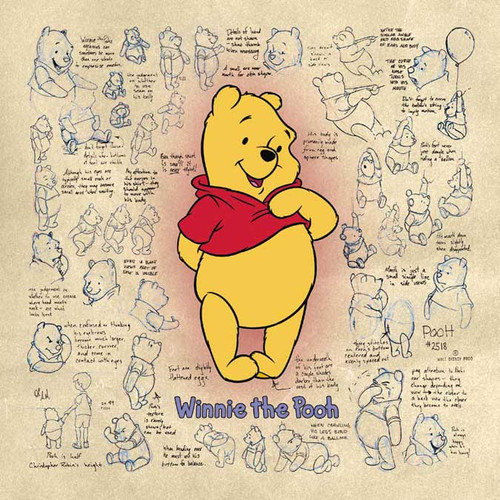 Disney: Winnie the Pooh - 500pc Jigsaw Puzzle by Buffalo Games (discon)