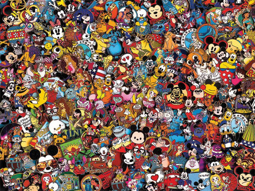 Disney Collection: Collector Pins - 750pc Jigsaw Puzzle by Ceaco