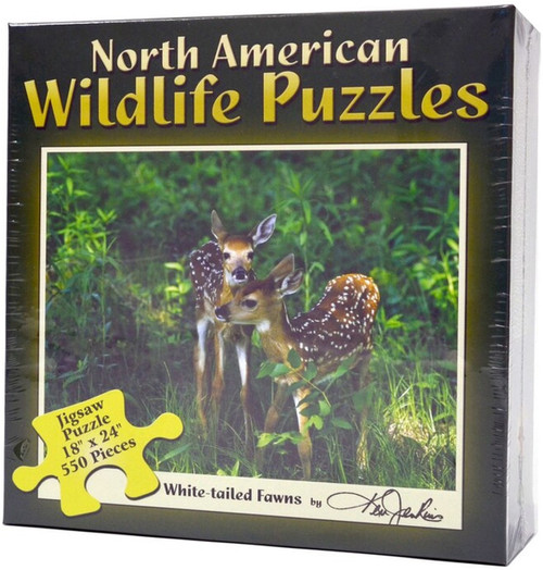 Jigsaw Puzzles - White-Tailed Fawns
