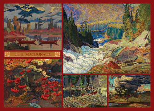 MacDonald Collection - 1000pc Jigsaw Puzzle by Cobble Hill