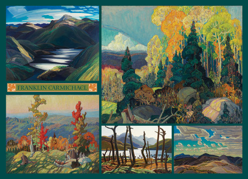 Carmichael Collection - 1000pc Jigsaw Puzzle by Cobble Hill