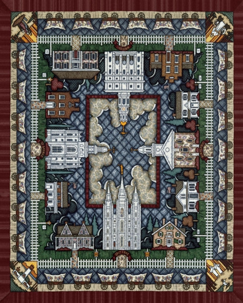 Dowdle Jigsaw Puzzles - Pioneer Pattern