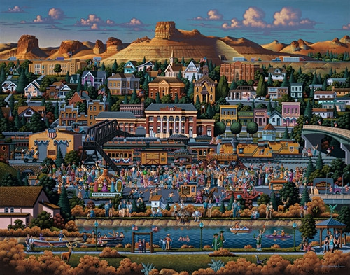 Dowdle Jigsaw Puzzles - Green River, WY
