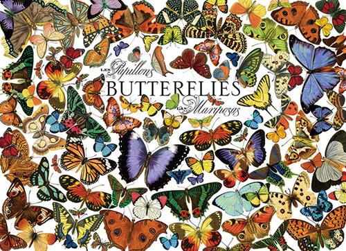 Cobble Hill Jigsaw Puzzles - Butterflies