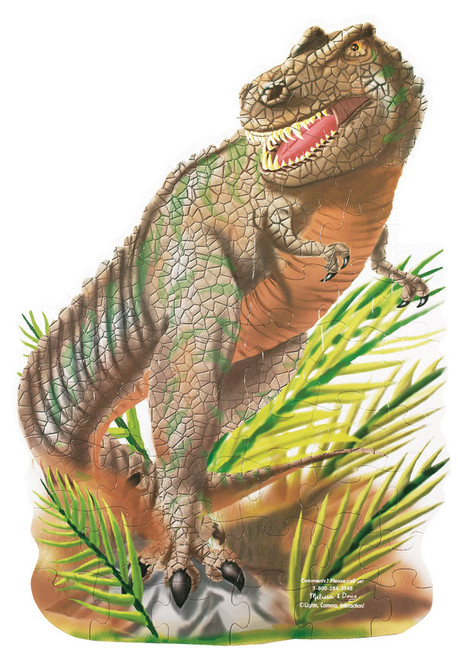 Melissa and Doug Floor Jigsaw Puzzles For Kids - T-Rex