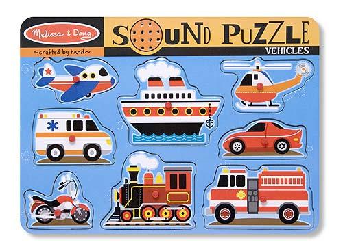 Sound Puzzles - Vehicles