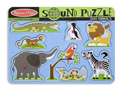 Sound Puzzles - Zoo Animals