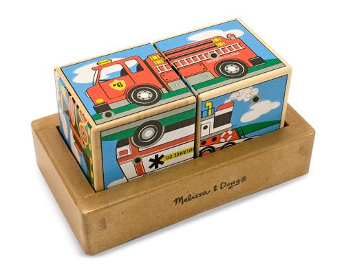 Children's Puzzles - Vehicle Sounds