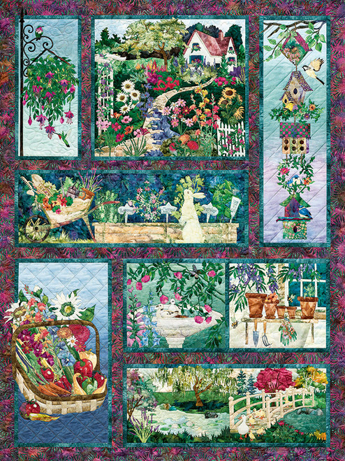 In Full Bloom - 500pc Jigsaw Puzzle by Cobble Hill