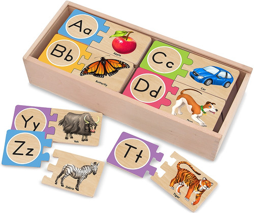 Educational Puzzles - Letter Puzzles